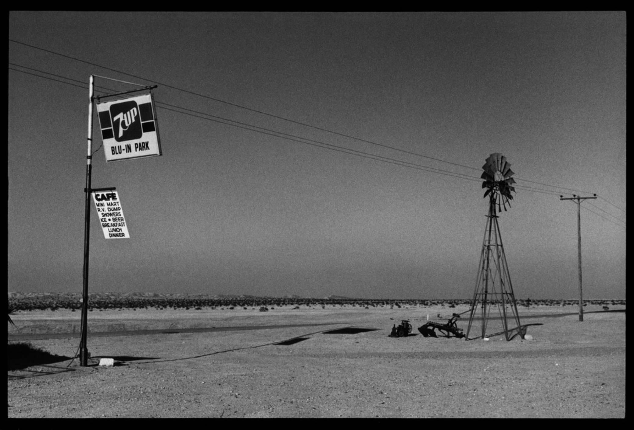 Raymond Depardon, Errances Américaines — USA California Mohave Desert 1982 (Courtesy Magnum Photos)