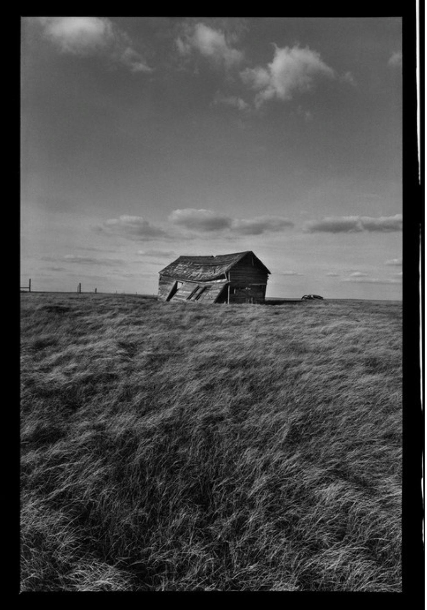 Raymond Depardon, Errances Américaines — USA Dakota du Sud BadLands 1999 (Courtesy Magnum Photos)