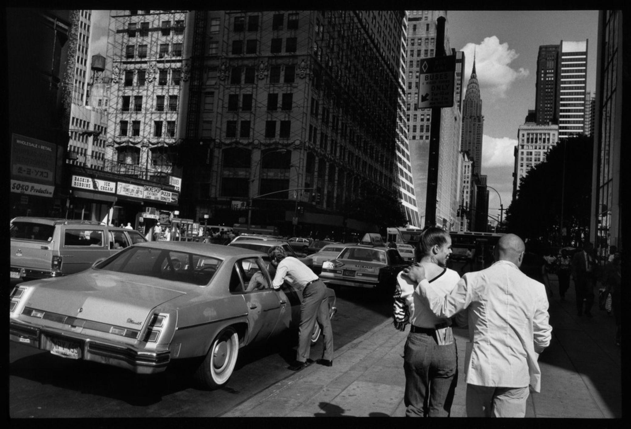 Raymond Depardon, Errances Américaines — USA New York 1981 (Courtesy Magnum Photos)