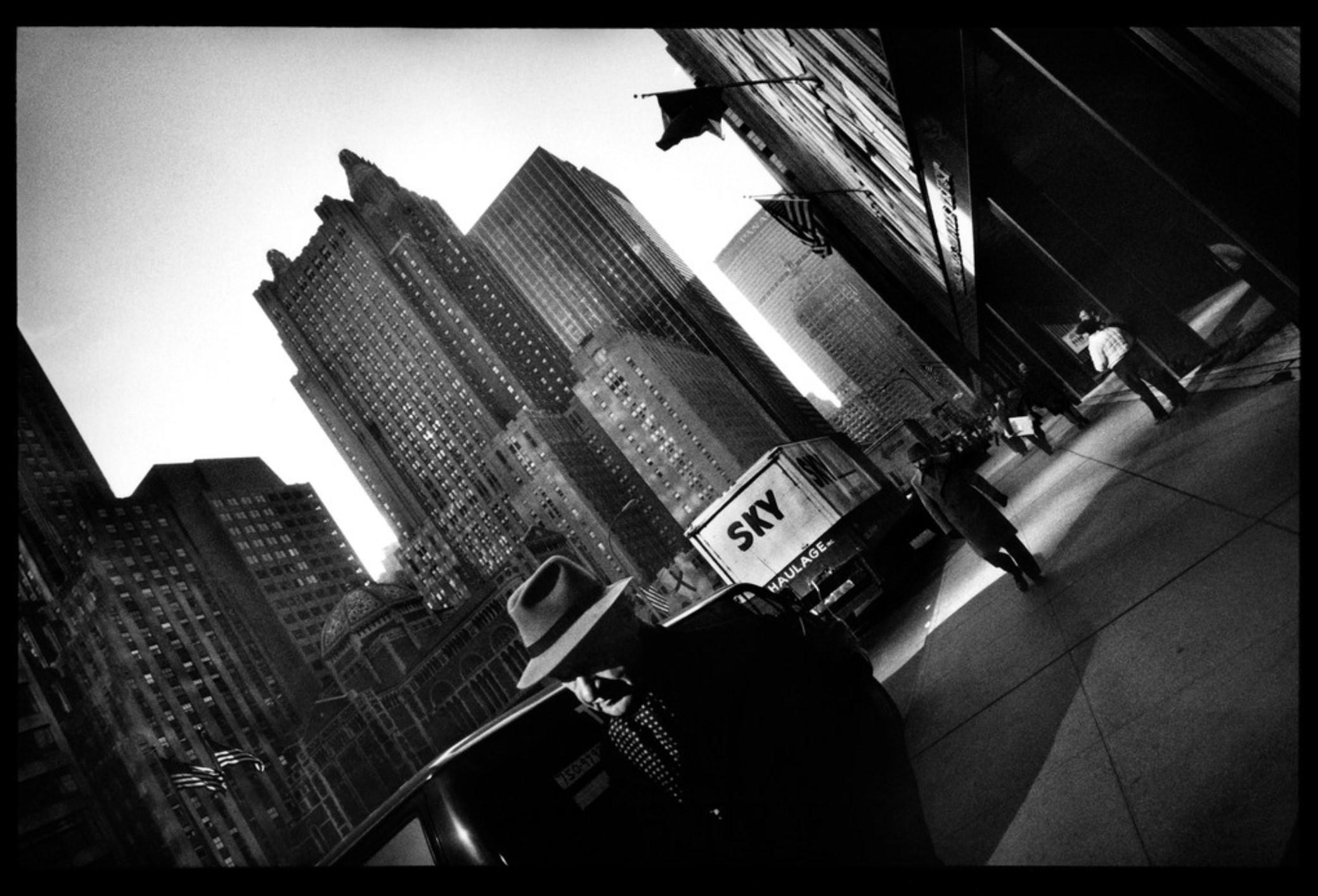 Raymond Depardon, Errances Américaines — USA New York Manhattan 1981 (Courtesy Magnum Photos)