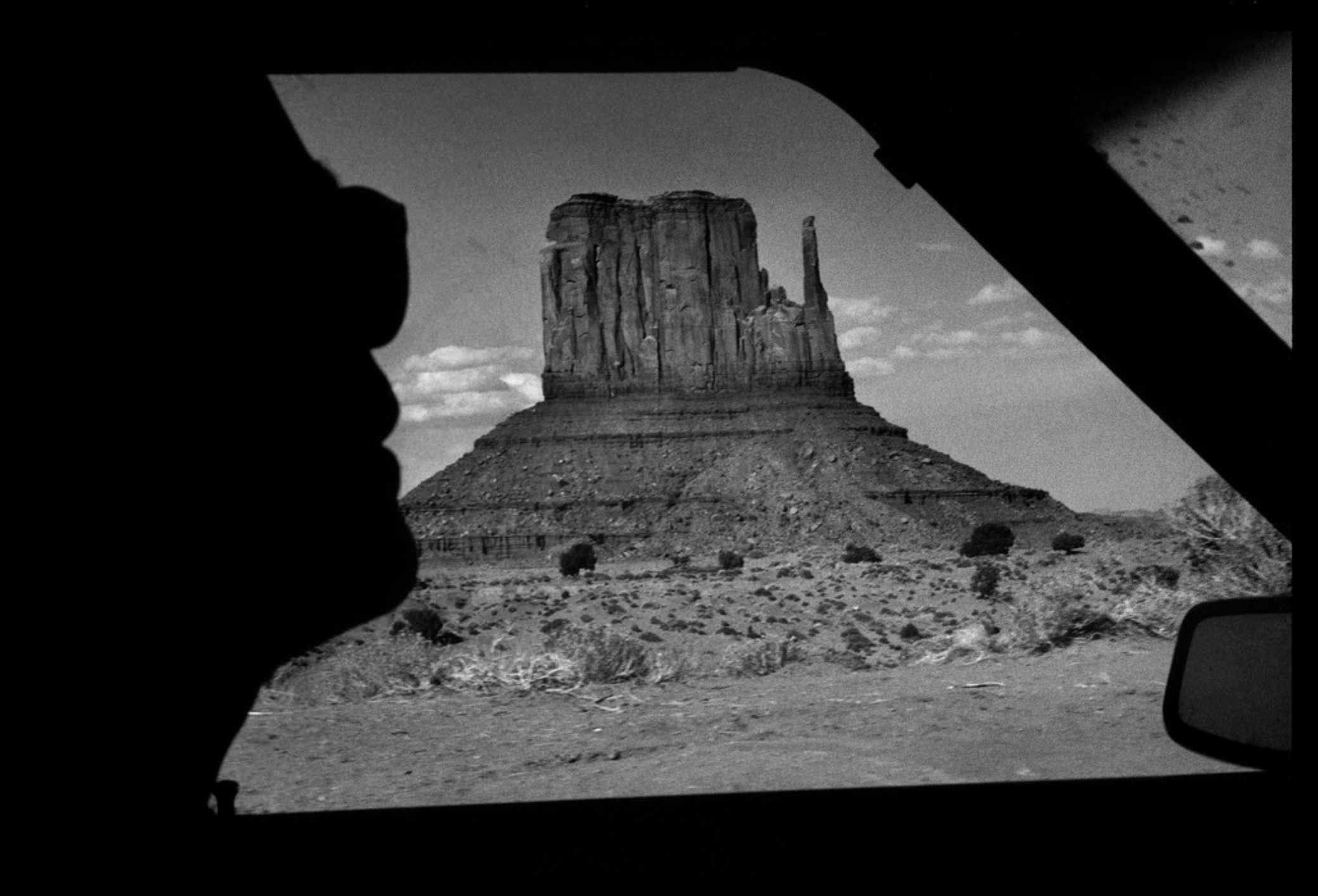 Raymond Depardon, Errances Américaines — USA Utah Monument Valley 1982 (Courtesy Magnum Photos)
