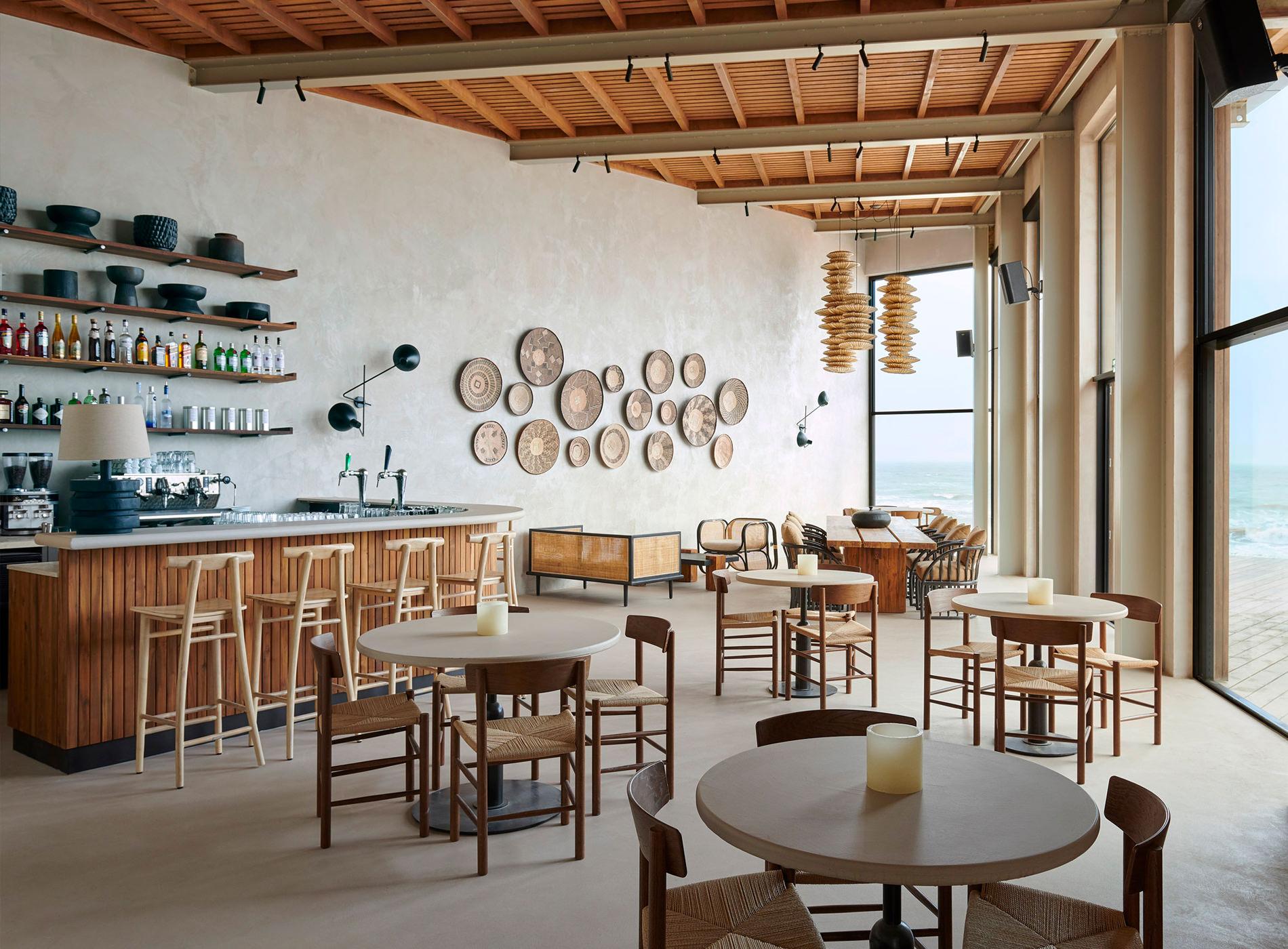 Restaurant De Republiek. Amsterdam, Bloemendaal Aan Zee — Pays-Bas
