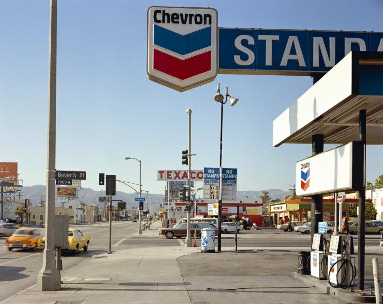Stephen Shore-Beverly-Boulevard-And-La-Brea-Avenue-Los-Angeles-California-June-21-1975