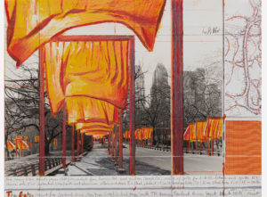 Christo. The Gates, Project for Central Park, New York City (2003)