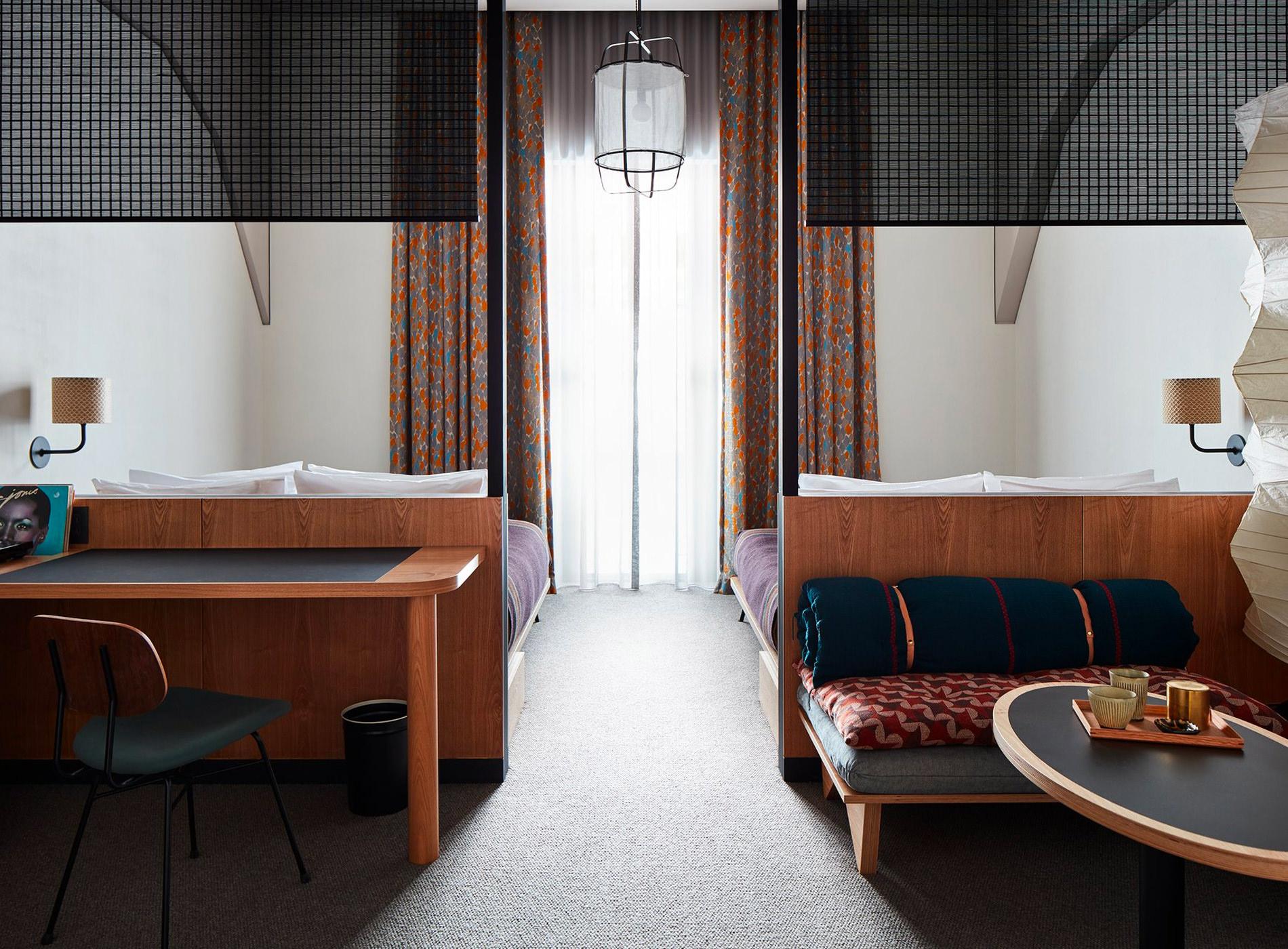 City Guide Kyoto. Ace Hotel Kyoto, Nakagyo (Kengo Kuma, Design Studio Commune)