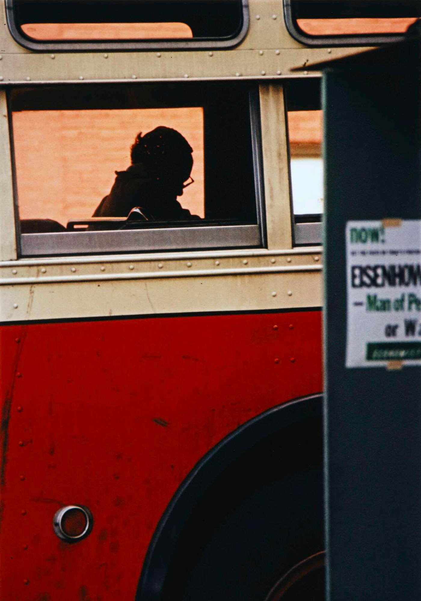 Saul Leiter Bus New York 1954