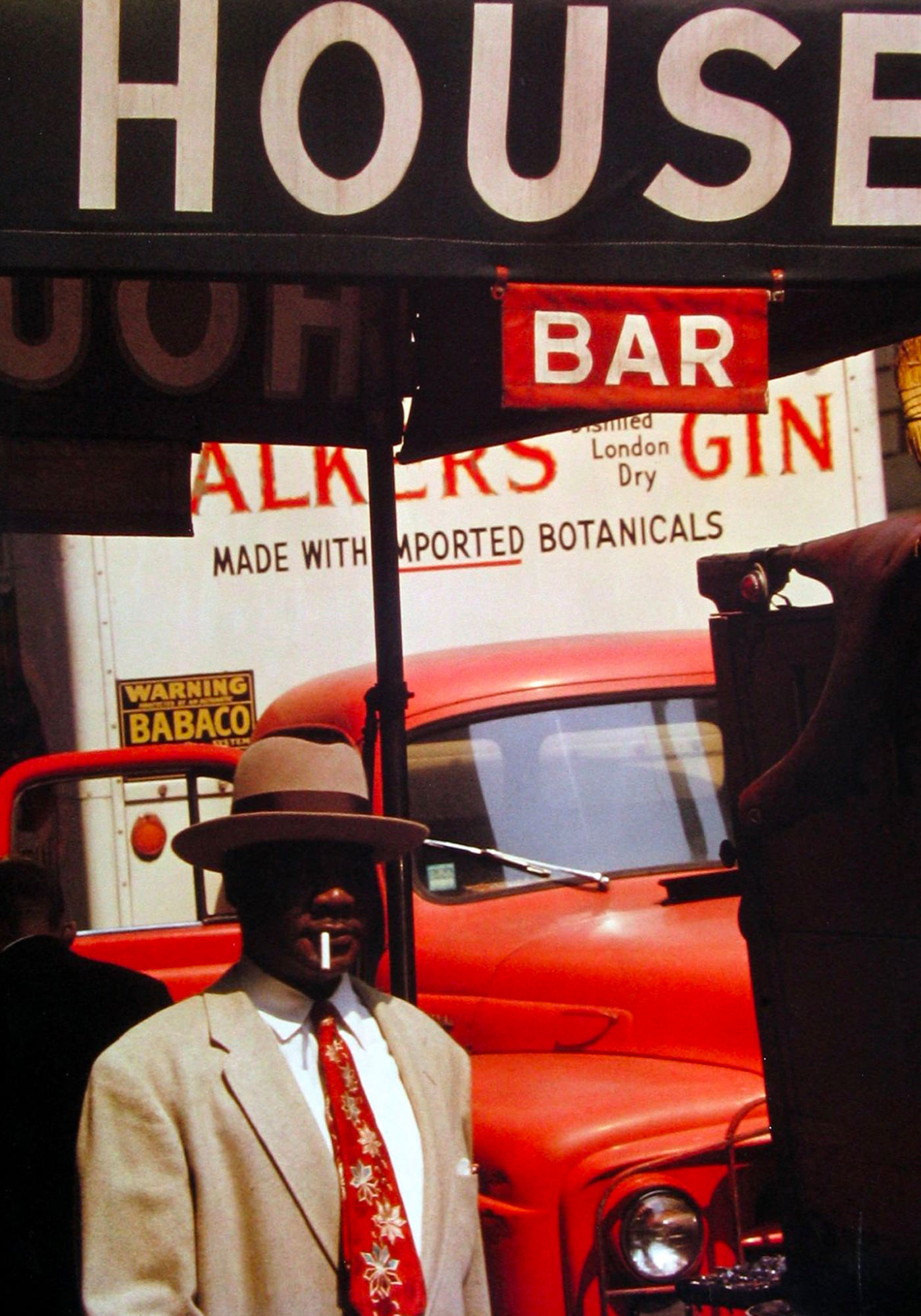 Saul Leiter Early Color Harlem 1960v