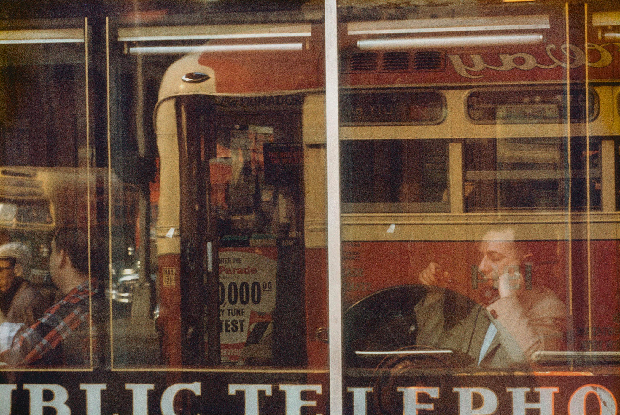 Saul Leiter Phone Call 1957