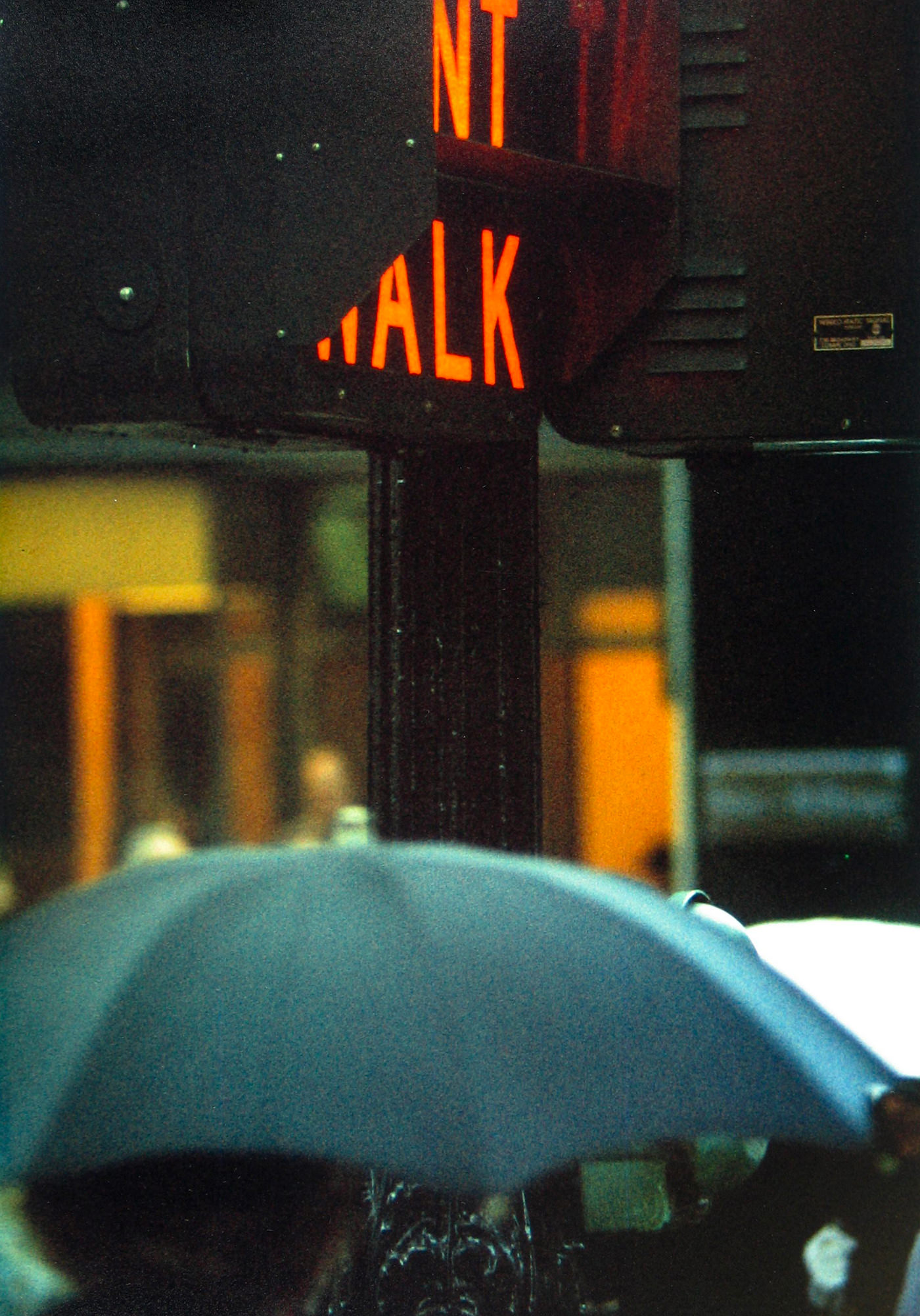 Saul Leiter Viewing Room Don't Walk 1952