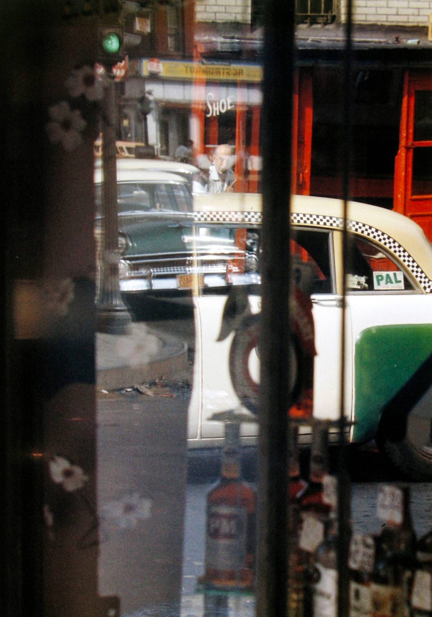 Saul Leiter Viewing Room Taxi 1956