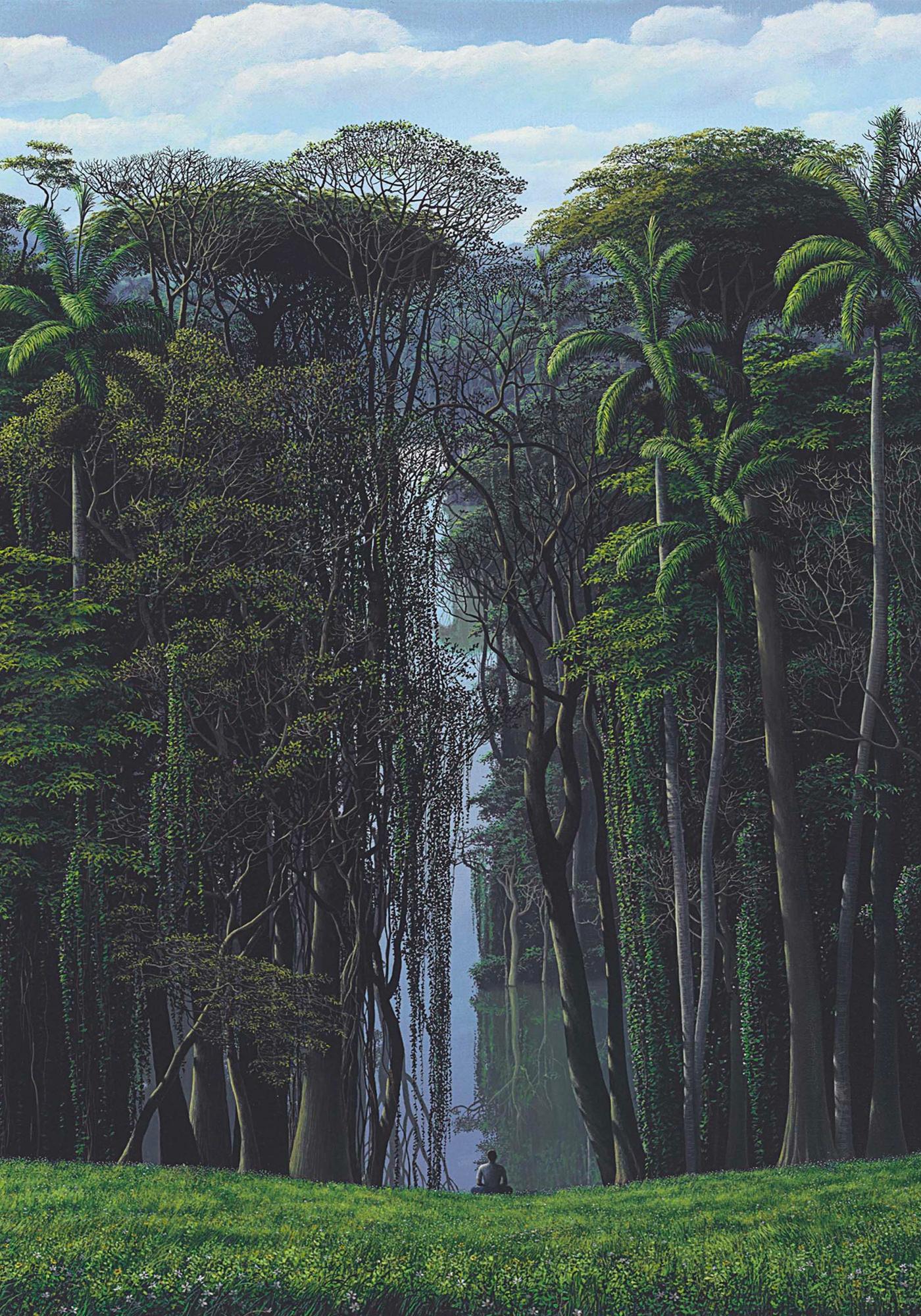 Tomás Sánchez — Meditacion Bajo Un Signo De Aguas (1995)