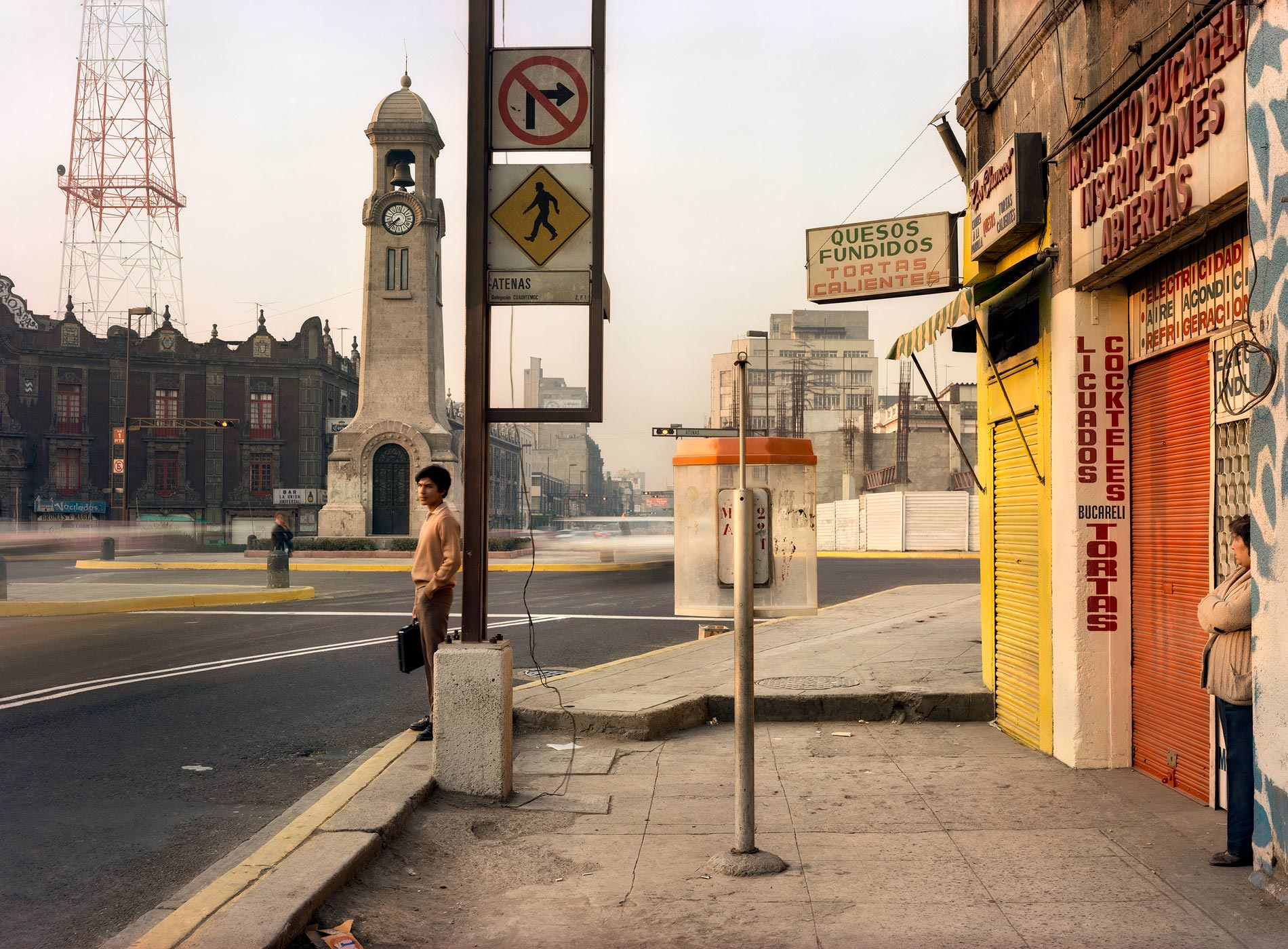 Adam Bartos Photographie, Travel 1978-81