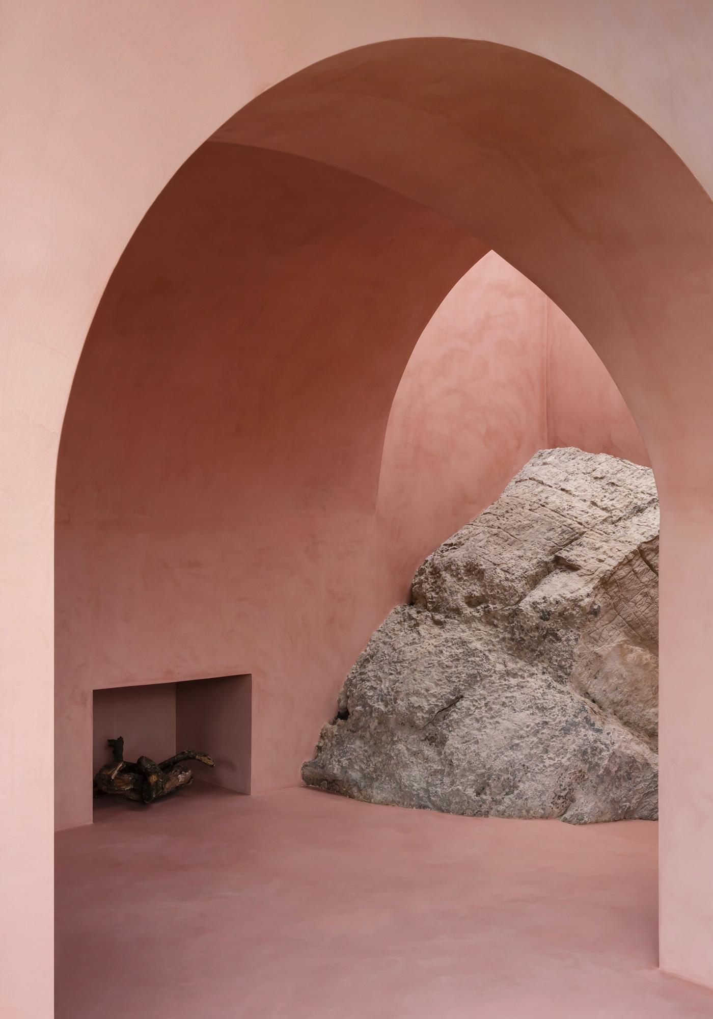 The Olive Houses, Iles des Baléares, Majorque, La Serra De Tramuntana, Espagne (Studio d'architecture : Mar Plus Ask)