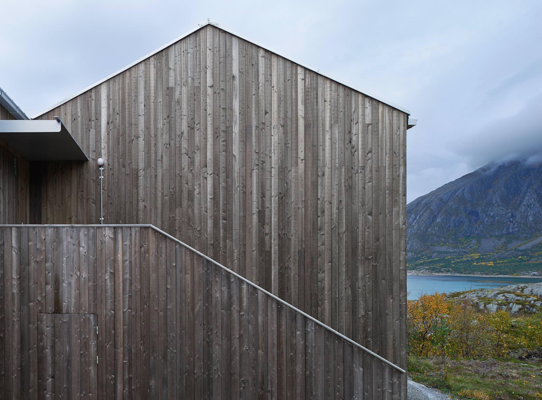 Cottage d'écrivains, Vega Cottage, Archipel de Vega, Norvège, Kolman Boye Architects