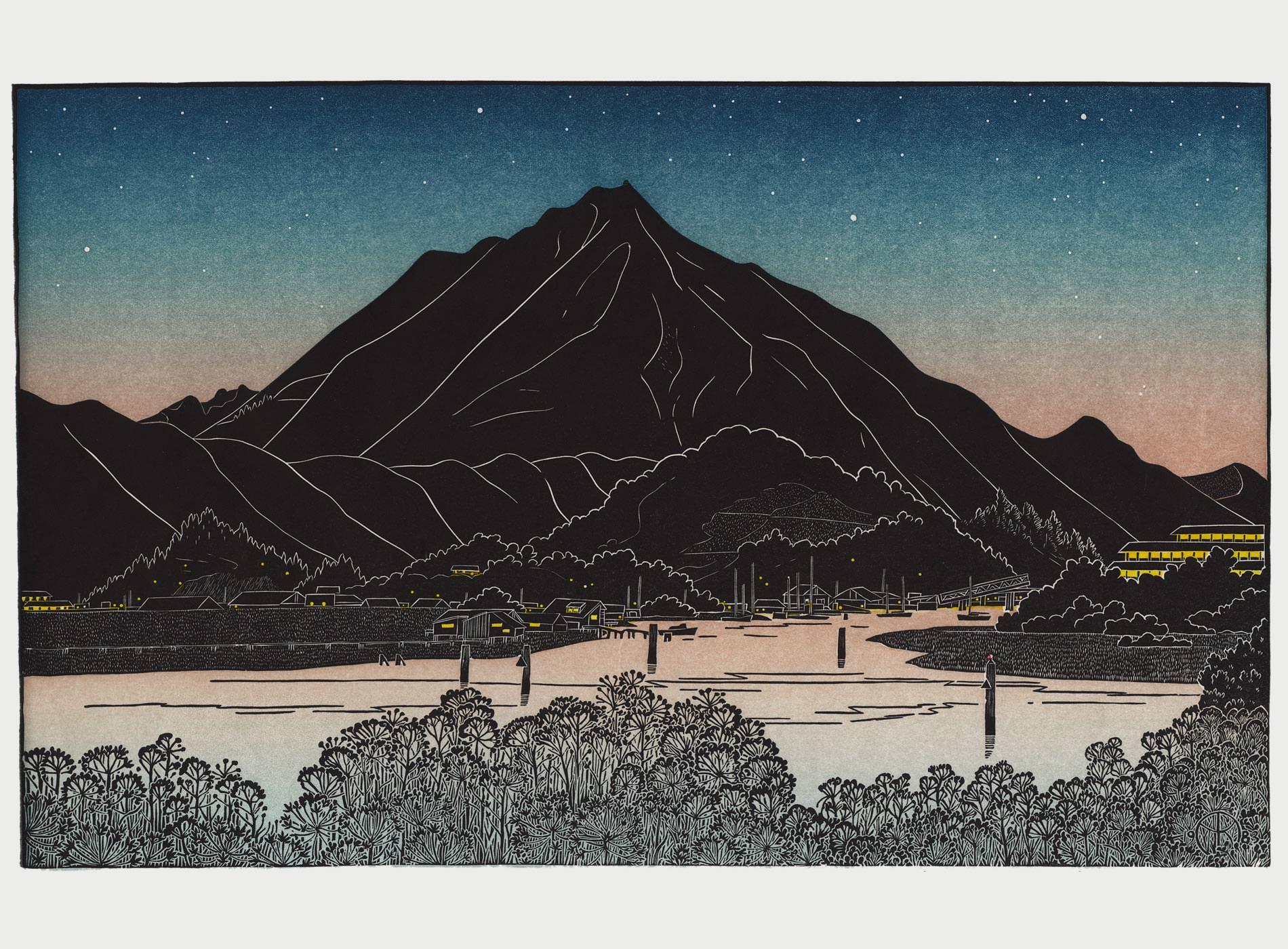 Tom Killion Gravures Bois Linogravures WoodCut LinoCut Prints Inspiration Katsushika Hokusai ukiyo-e