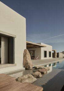 Villa Mandra, Architecture Mykonos, Grèce, K-Studio