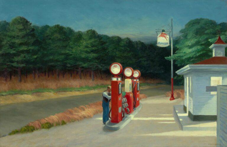 Edward Hopper, Gas, 1940 ©The Museum Of Modern Art