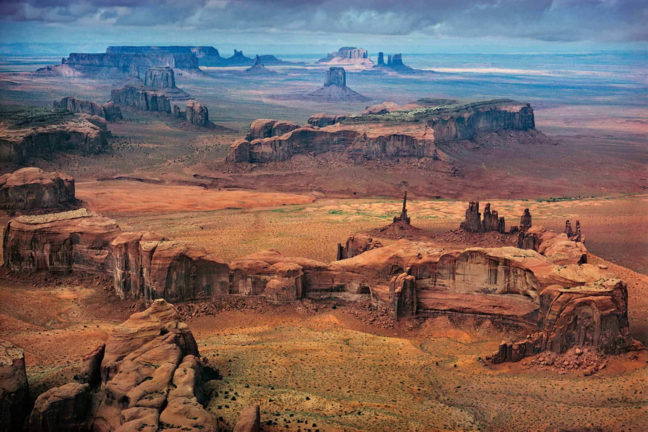 Ernst Haas Photographie, Monument Valley, Utah, USA, 1962