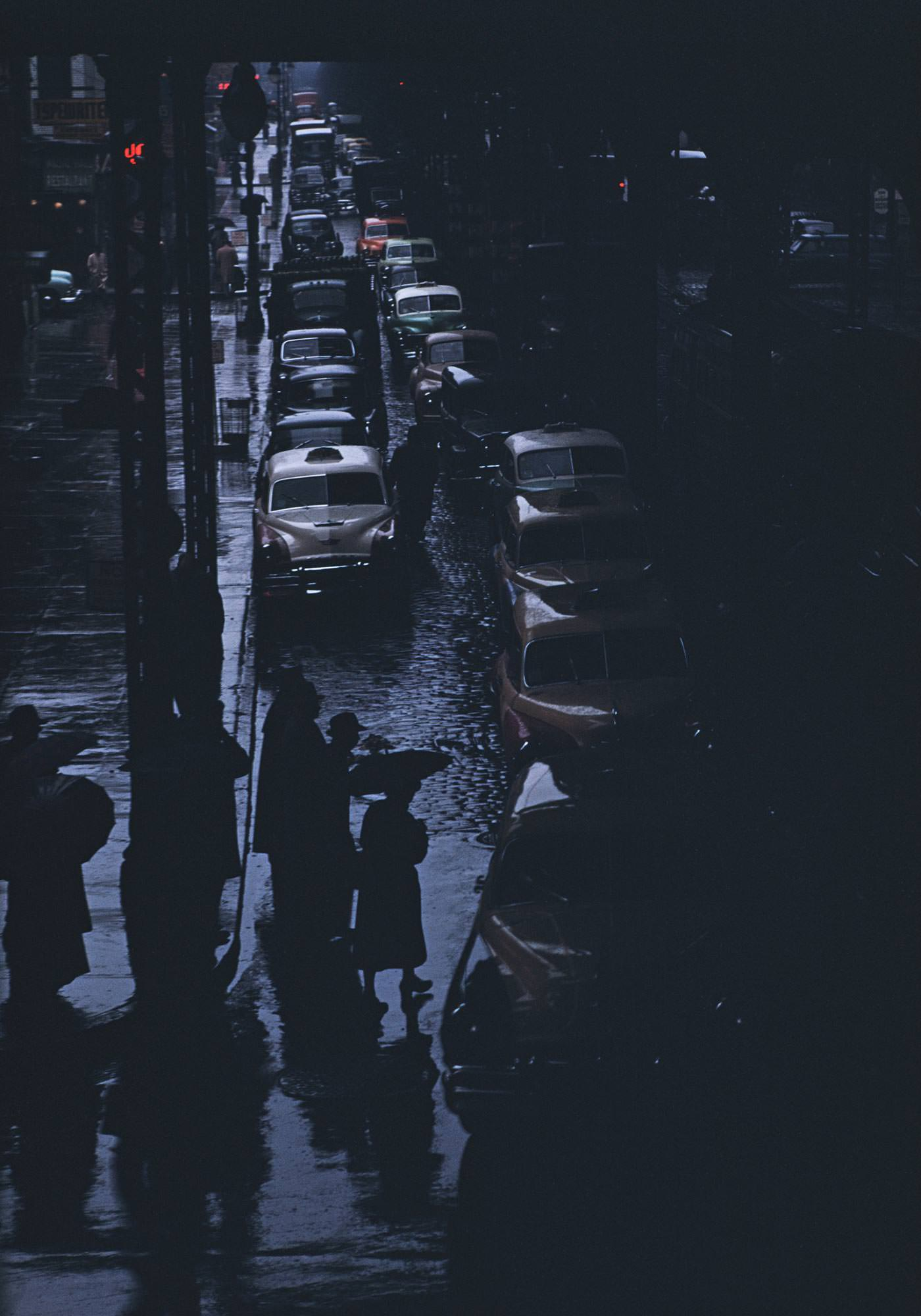 Ernst Haas Photographie, New York City, USA, 1952