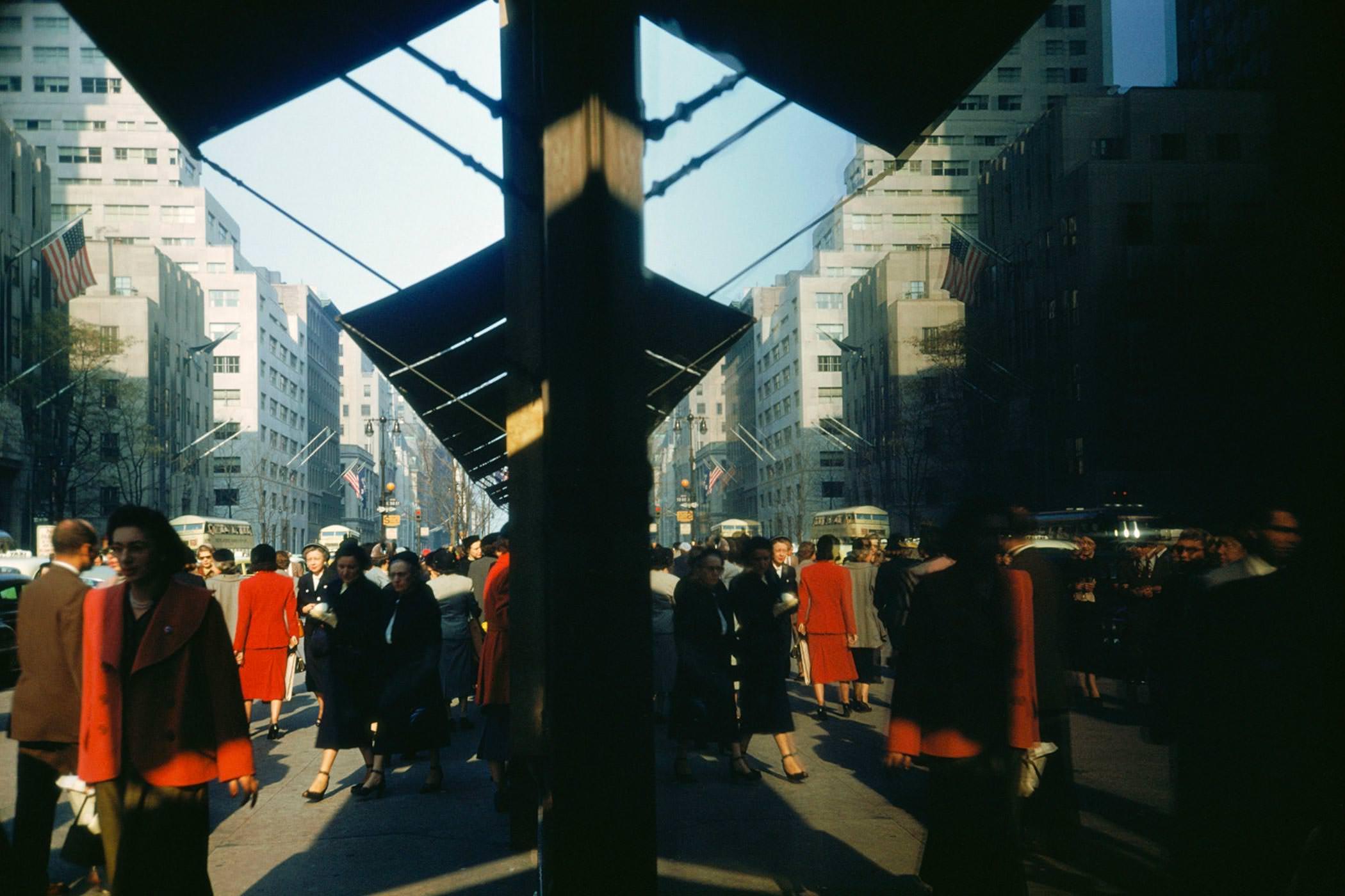 Ernst Haas Photographie, New York City, USA, 1953