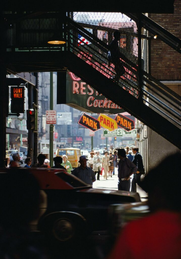 Ernst Haas Photographie, New York City, USA, 1970s
