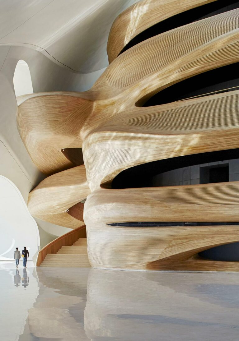Harbin Opera House, Province du Heilongjiang, Chine, MAD Architects