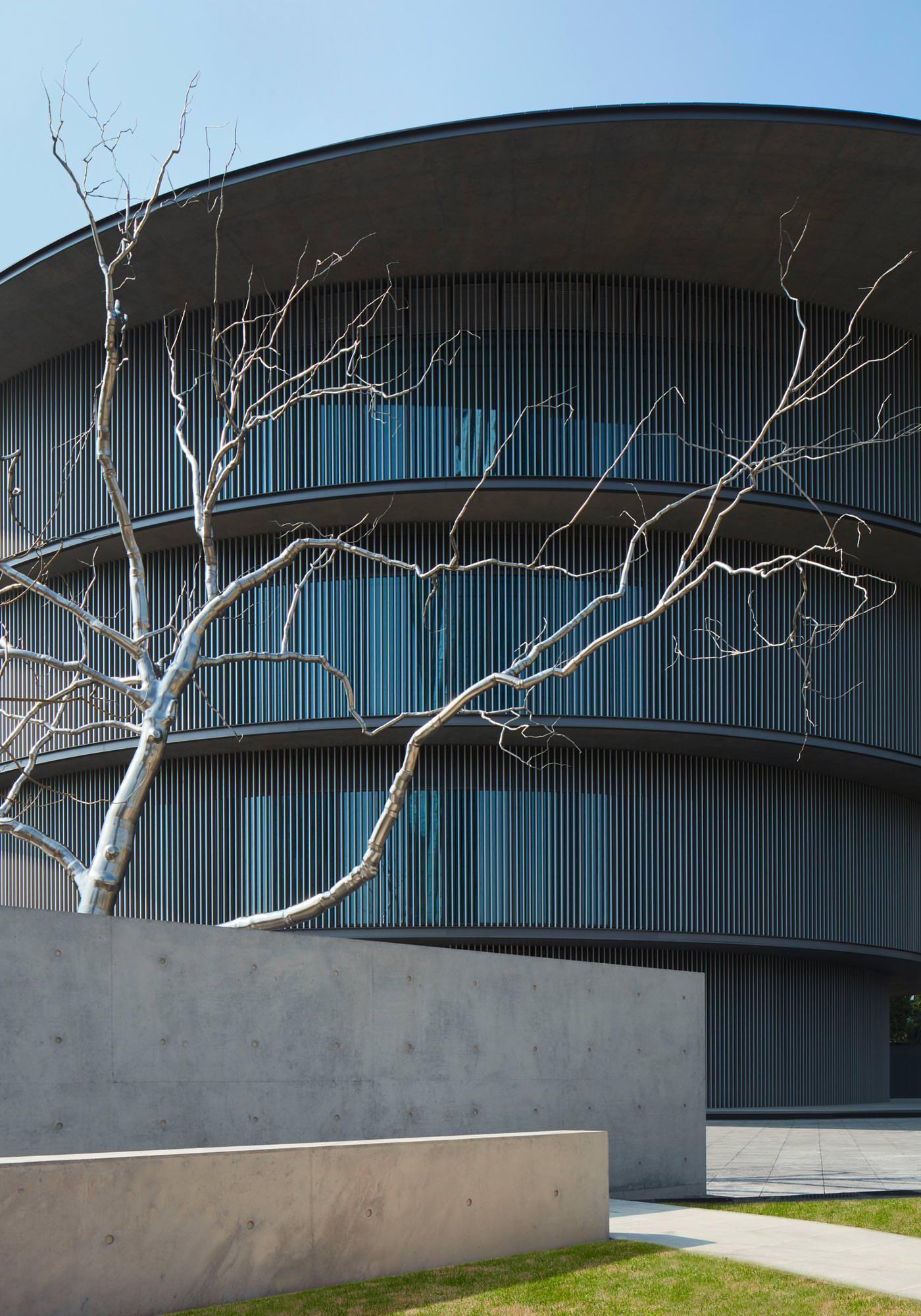 He Art Museum (HEM) Shunde, Province du Guangdong, Chine — Tadao Ando Architect & Associates