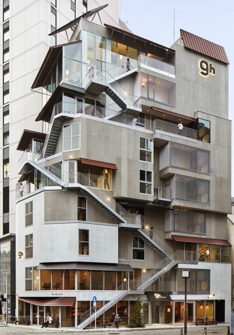 Nine Hours 9h Capsule Hotels Tokyo Akasaka