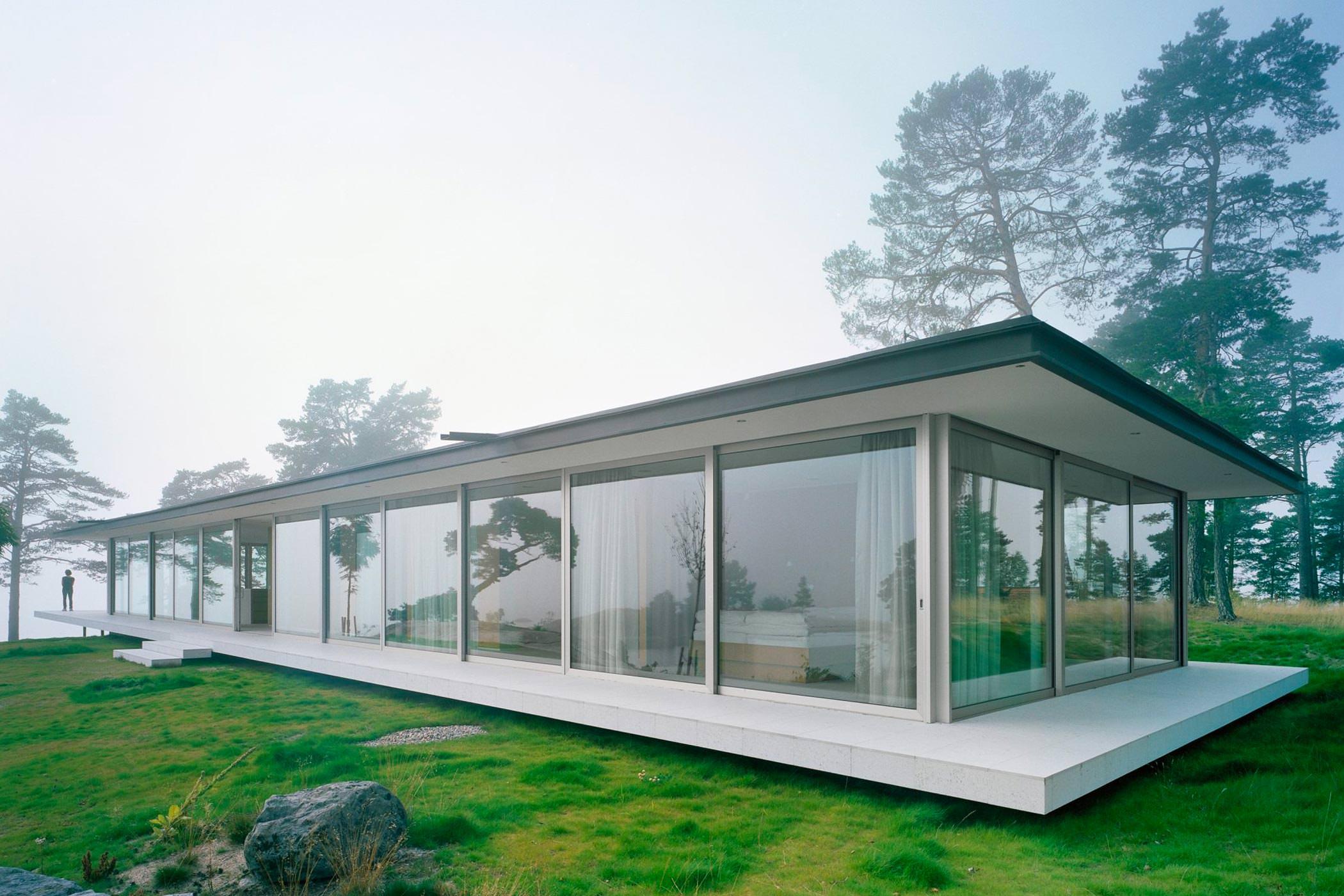 Villa Kymmendö, Archipel De Stockholm, Suède, Jordens Arkitekter
