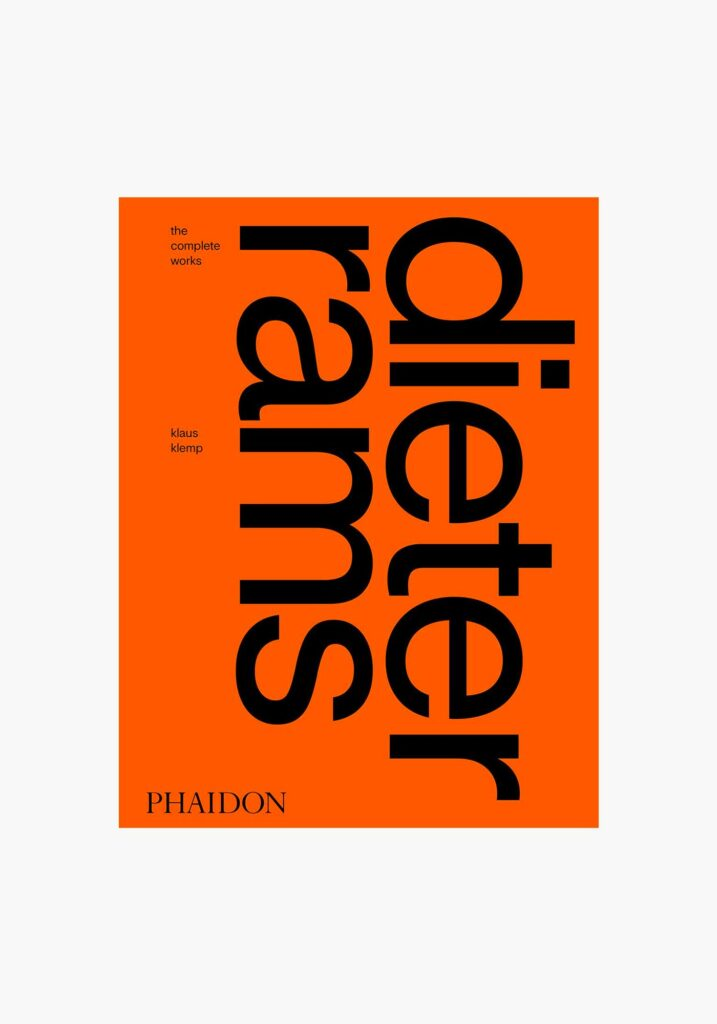 Dieter Rams Design. Complete Works, Phaidon